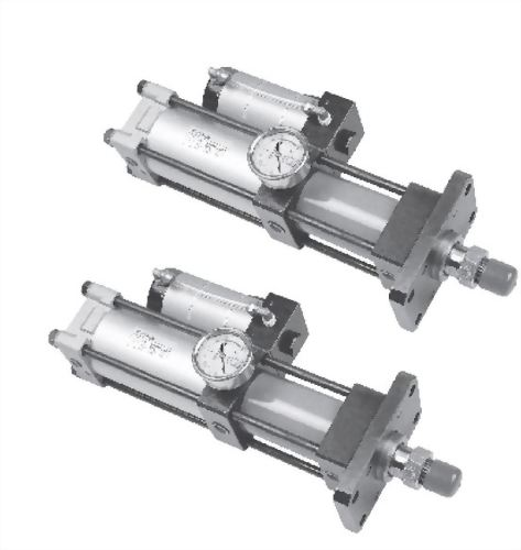 Power cylinders with direct boosting