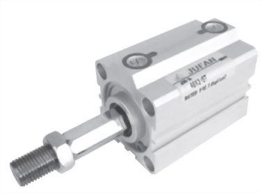 JIS Non-Rotating Compact Cylinders