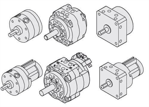 Rotary cylinder (vane style)JTM Series