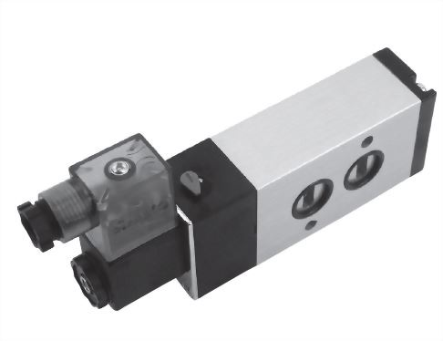 5-Port Solenoid coupled with cylinder JSVN-520 Series
