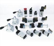 Pneumatic control components