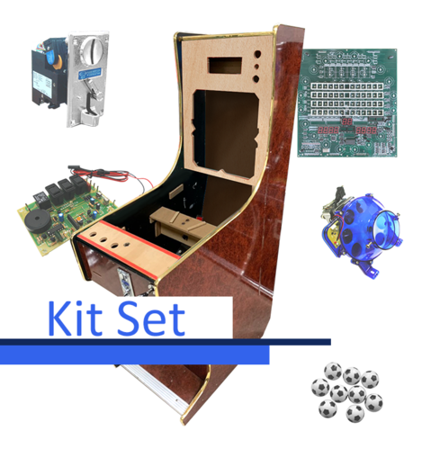 Pinball 6 Balls Kit Set