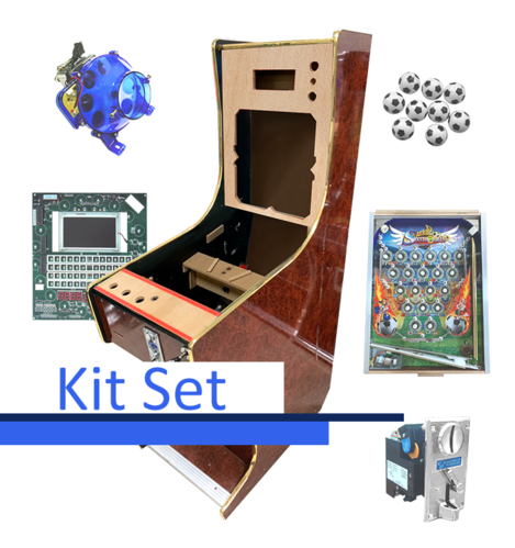 Pinball 9 Balls Kit Set