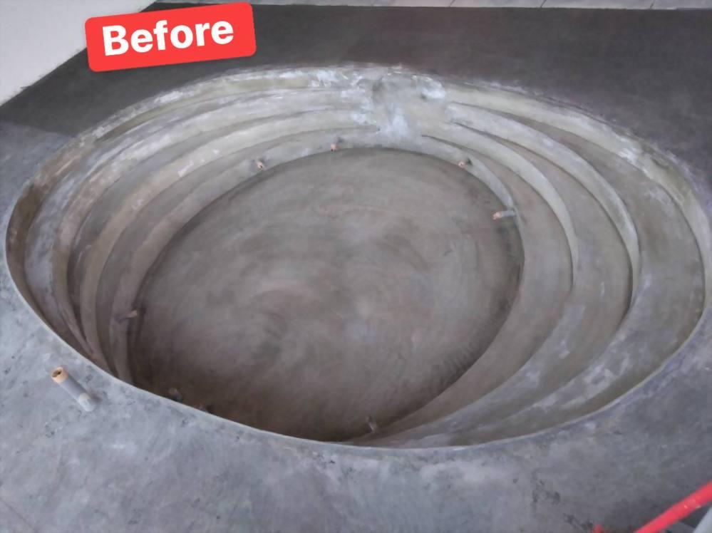 Church wash basin
