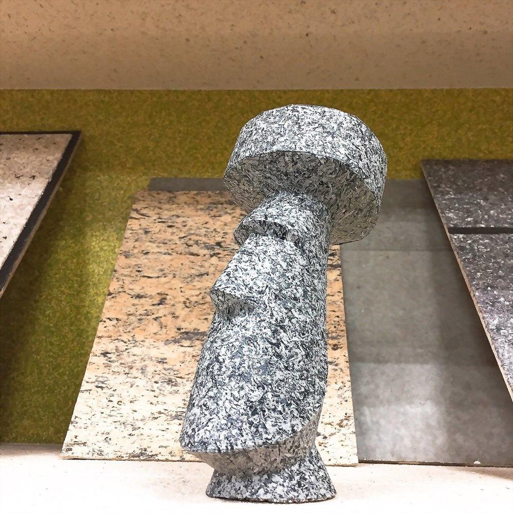 Moai stone statue