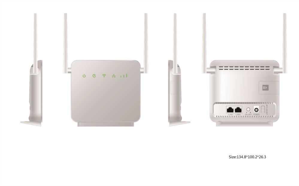 MaxComm 4G LTE Cat.6 CPE WiFi Router WR-114