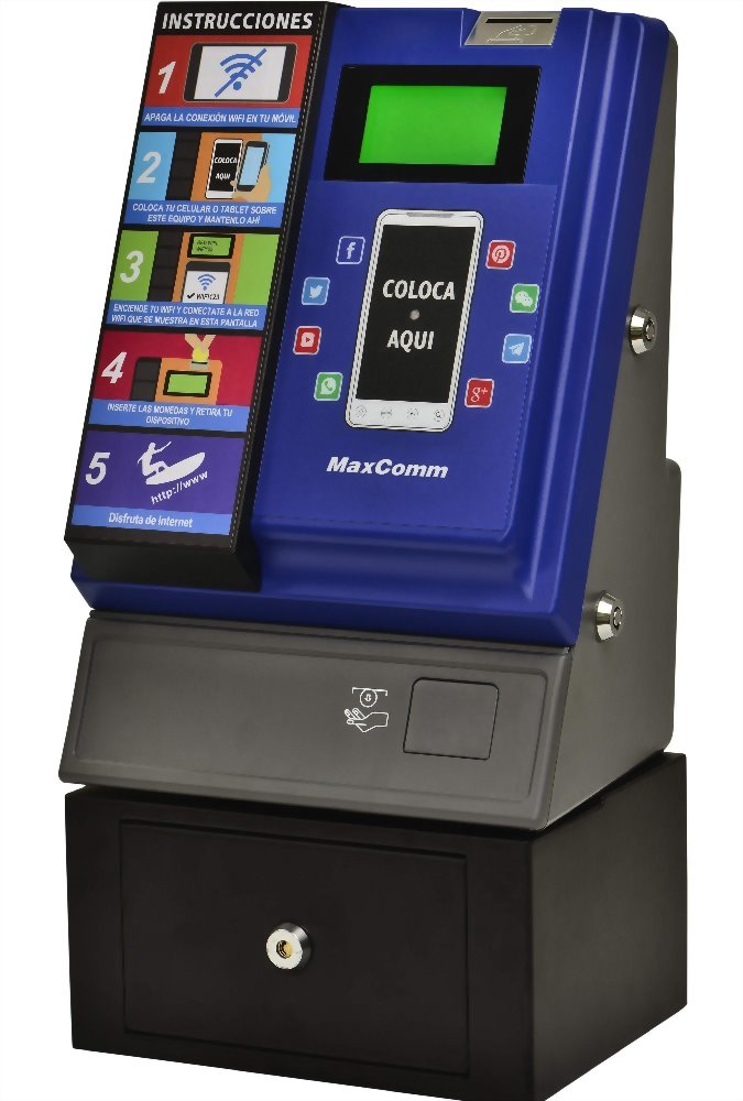 Tap Coin WiFi Hotspot Pay Terminal Kiosk WIFI-A202