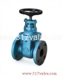 (CI-12N/CI-12N/CI-2NS) CAST IRON GATE VALVE CLASS 125