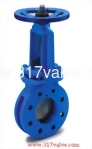 (CI-12K) CAST IRON KNIFE GATE VALVE MANUAL TYPE