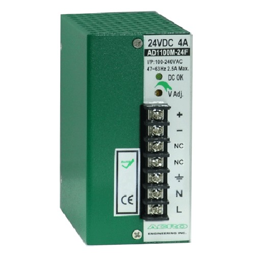 DC Motor Power Supply 100W, Single Output