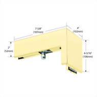 90 Degree Right Hand Sidelite Mounted Transom Patch
