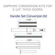 Handle Set Conversion Kit