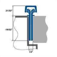 Aluminum Geared Continuous Hinges