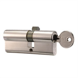 Door Lock Profile Cylinder - key/key, 5 pin, yale 8 keyway