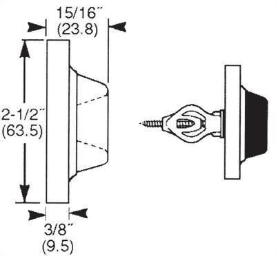 CONCAVE WALL DOOR STOP (DA-WS26)