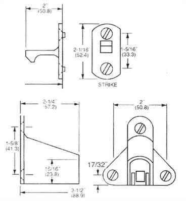 WALL MOUNTED AUTOMATIC DOOR HOLDER (DA-DH18W)