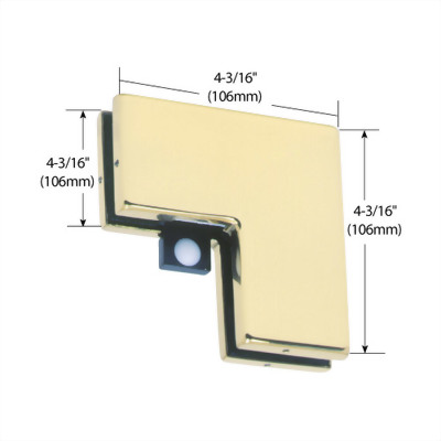 Sidelite Mounted Transom Patch Connector with Reversible Door St