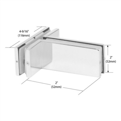 Transom Mounted Patch Connector With Support Fin Bracket