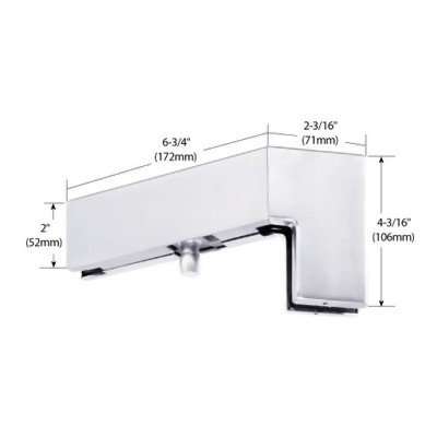 135 Degree Right Hand Sidelite Mounted Transom Patch