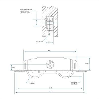 Side Adjust Tandem Rollers 3800 Series