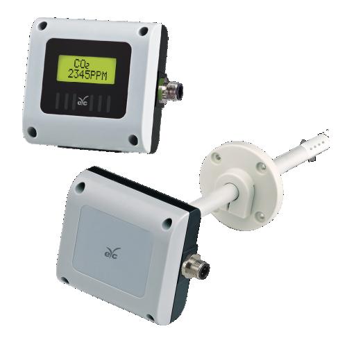 eYc GS43/44 二氧化碳傳送器 室內/管路型