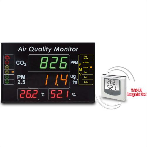 eYc DMB04 4合1 多功能室内空气品质LED大型显示器 / 监测看板