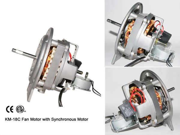 KM-18C Fan Motor with Synchronous Motor