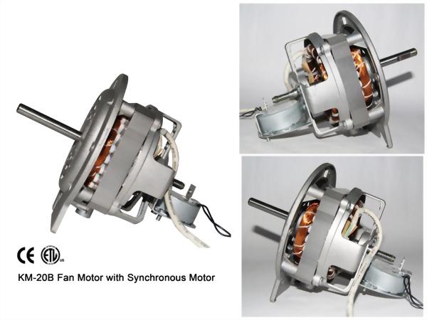 KM-20B Fan Motor with Synchronous Motor & Ball Bearing