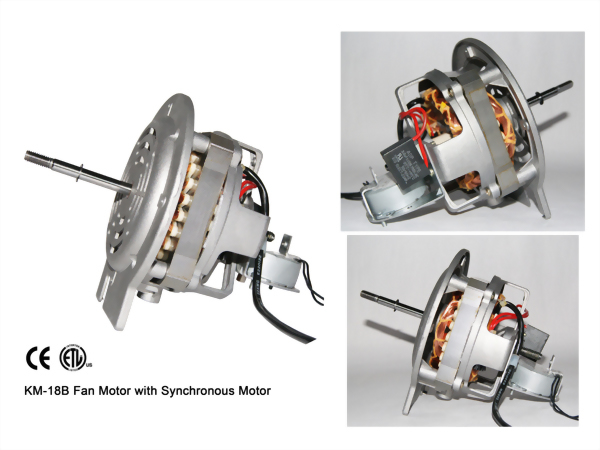 KM-18B Fan Motor with Synchronous Motor