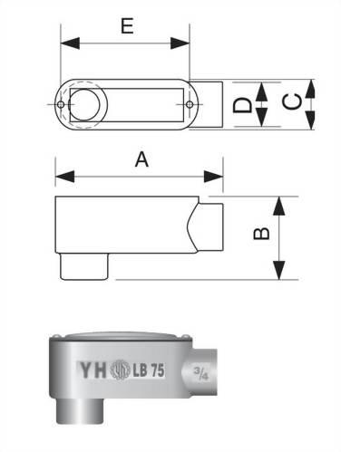 LB型電管穿線匣