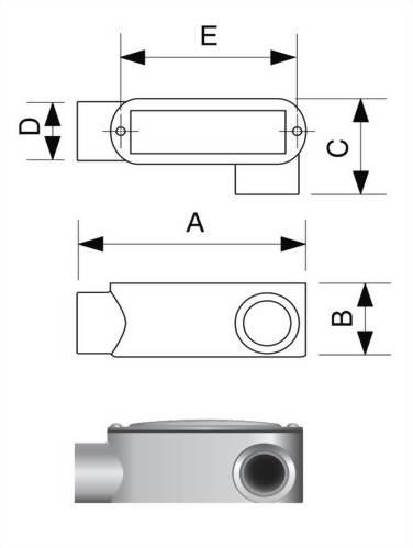 LL型電管穿線匣