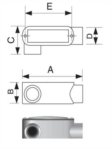 LR型電管穿線匣