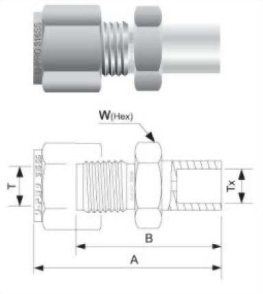 外管套焊接頭