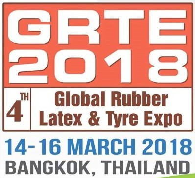 2018/03/14~2018/03/16 GRTE - Global Rubber, Latex & Tire Expo