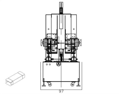 Semiautomatic Box Sealing Machine