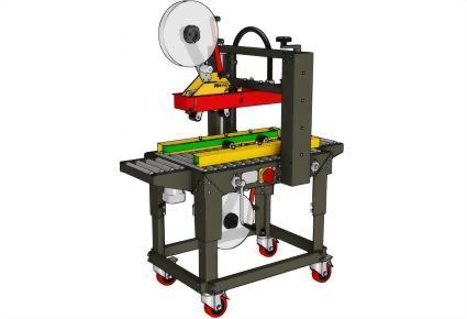 Carton Sealing Machines / Top & Bottom Seal | Uniform Carton Sizes / PW-562M