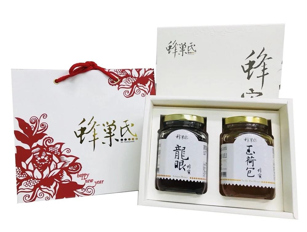 龍眼蜂蜜 玉荷包蜂蜜 370g 2入禮盒組 1 組
