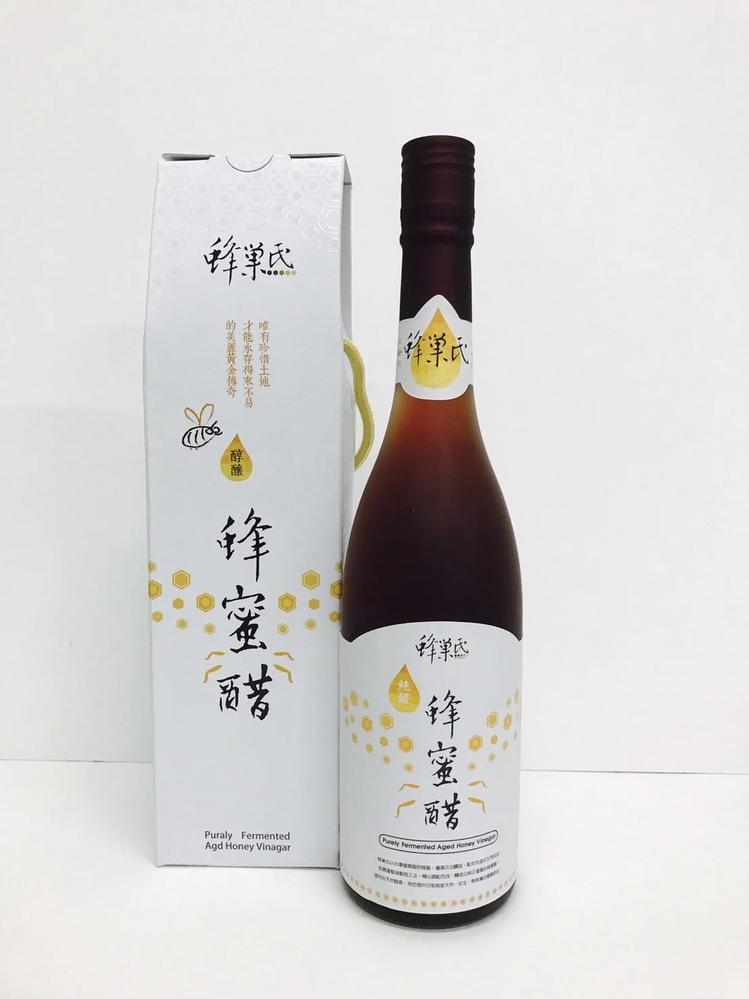 純釀造陳年蜂蜜醋(600cc)/瓶