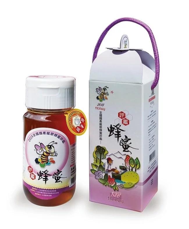 全國評鑑頭等獎龍眼蜂蜜(700g)/瓶