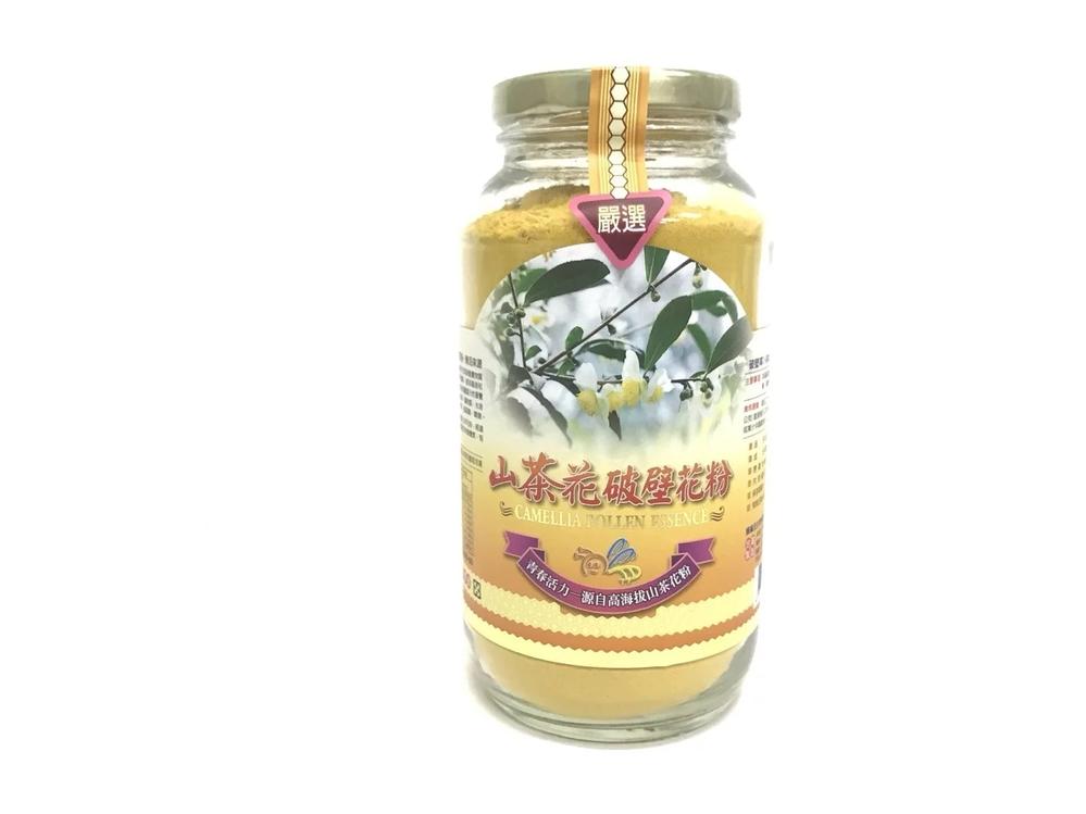 高海拔山茶花破壁花粉(300g)/瓶