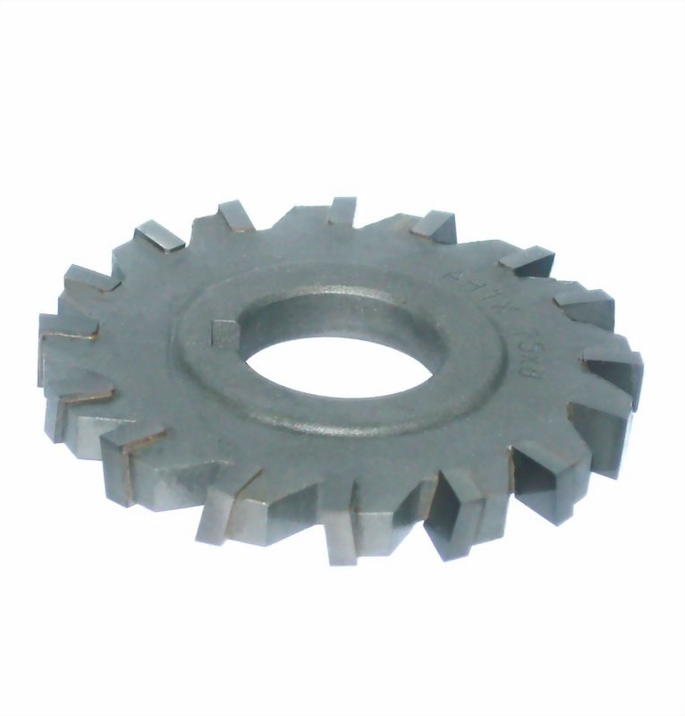 Staggered teeth side milling cutter