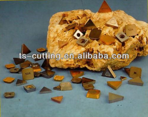 Refurbished carbide cnc turning inserts
