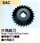 SAC  Single Angle Milling Cutters