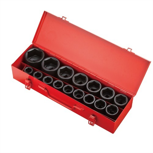 "3/4"" 16 Pcs  Impact Socket kit (Chrome-Molybdenum Steel)"