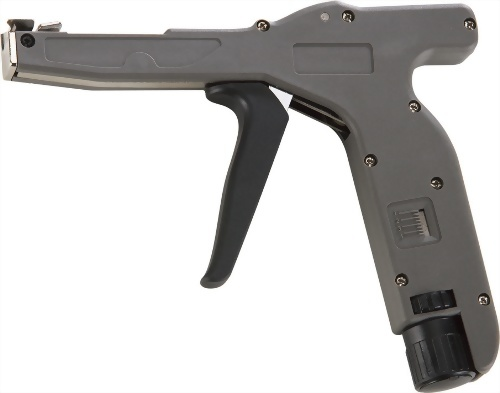 Professional Dual-use Micro-Speed Adjustable Cable Tie Gun (for 0.2mm - 4.8mm cable tie) Nylon