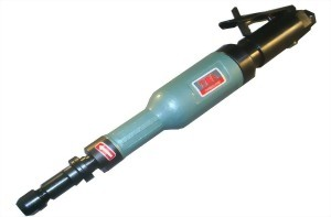 """1/4""""(6mm) Industrial Air Horizontal Grinder With Lever Type Throttle."""