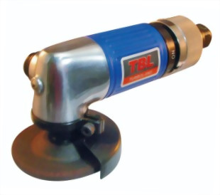 "0.25HP 2"" Industrial Right Angle Roll(Lever) Type Throttle Air Angle Grinder (Side Exhaust)."