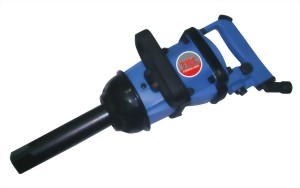 """1-1/2"""" Industrial Twin Hammer Mechanism Air Impact Wrench With 3""""(6"""") Anvil"""