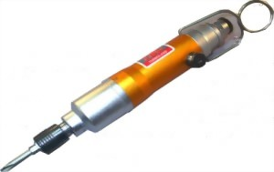 "1/4"" Industrial Push-Start & Button Reverse Two Hammer Mechanism  Air Impact Screwdriver With Quick Change Retainer"