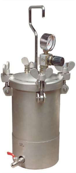 4 Litter Dome Type Pressure Feed Tank